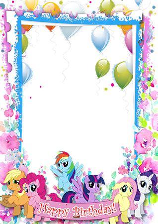cadres photo happy birthday   pony