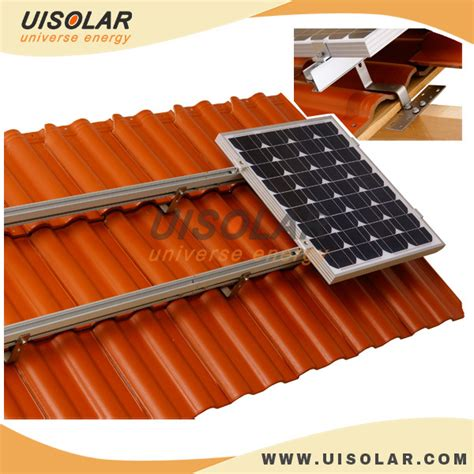 solar panel mounting structure for tile roof view solar