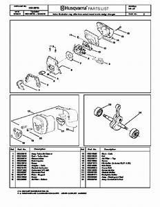 Husqvarna 141 Chainsaw Parts Manual  2004 2005
