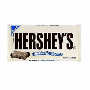 Buy Hershey Crunched Cookies & Cream Milk Chocolate Bar ...