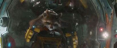 Rocket Raccoon Guardians Galaxy Marvel Footage Space
