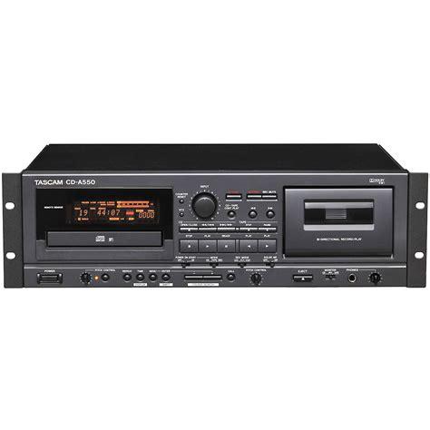 cd cassette recorder tascam cd a550 cd player cassette recorder combo