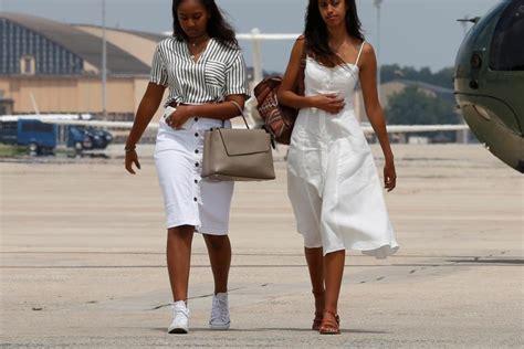 bush sisters told malia  sasha obama read