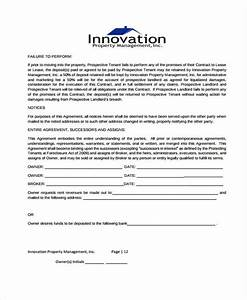 beautiful management contract template ensign resume With free property management forms templates