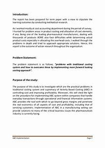 accounting term paper sample