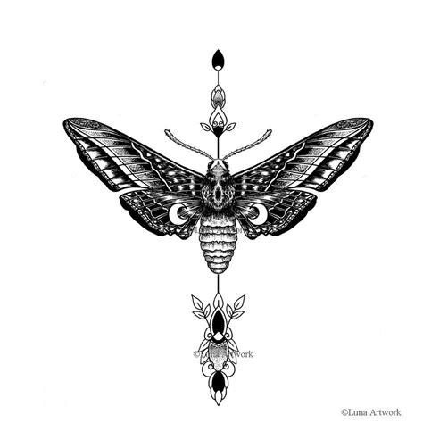 Was Werden Mücken Angezogen by Idee Motte Da Motten Nachtfalter Sind Und Vom Mond