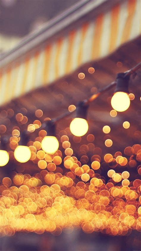 Wallpaper Lights by Bokeh Wallpapers For Iphone And