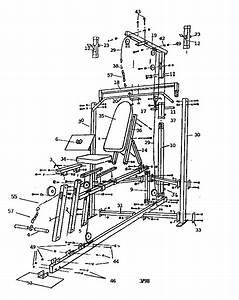 Gold U0026 39 S Gym G4381 Weight System Parts