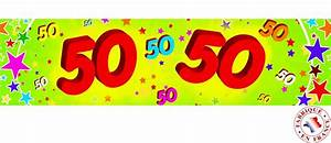 Partydeko Auf Rechnung : banner 50 jahre partydeko und g nstige faschingskost me vegaoo ~ Themetempest.com Abrechnung