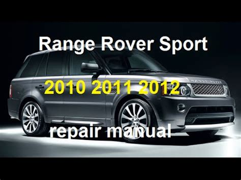 motor auto repair manual 2012 land rover range rover evoque spare parts catalogs range rover sport 2010 2011 2012 repair manual youtube