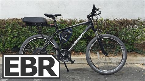 Dillenger 750w Gearless Electric Bike Kit Video Review
