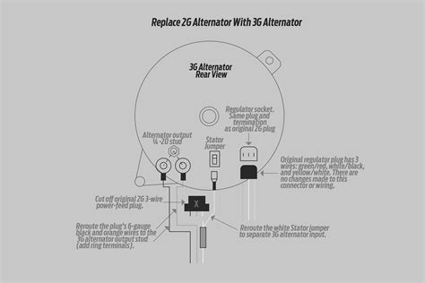 How Install High Output Ford Alternator Into Older