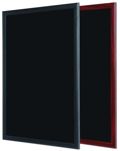 tableau memo cuisine design ardoise 1000x450 mm cadre noir
