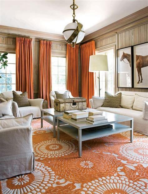 orange color  interior design home interior design