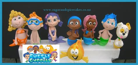 Guppies Cake Toppers by Cakes For Boys Sugar And Spice Celebration Cakes Auckland