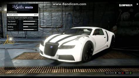 gta 5 bugatti fully customized gameplay