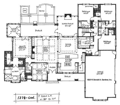home plan    don gardner house plans