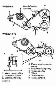 2001 Suzuki Esteem Serpentine Belt Diagram