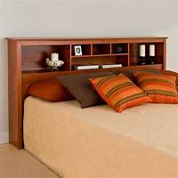 king size bed headboard King Size Bookcase Headboard in Beds and Headboards