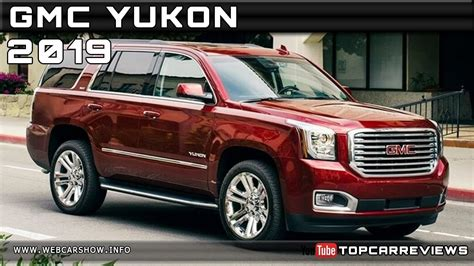 2019 Gmc Yukon Review Rendered Price Specs Release Date