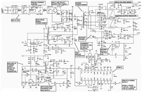 Atx Power Supply Schematic Diagrams Circuit Diagram World