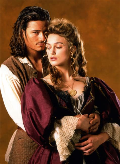 Elizabeth Swann And Will Turner Pirates Of The Caribbean
