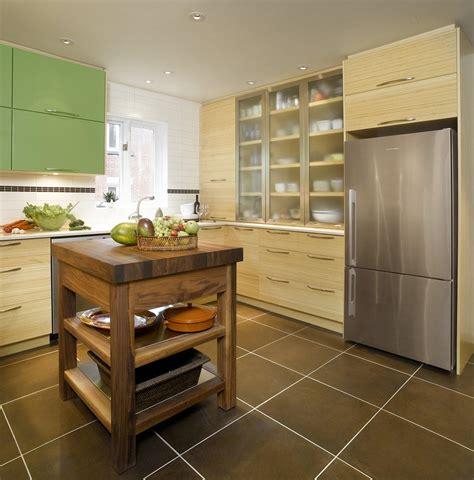 restauration armoires de cuisine en bois bambou accent couleur cuisine thermoplastique bois quartz