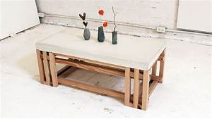 18 diy concrete coffee and side tables With concrete coffee table and end tables