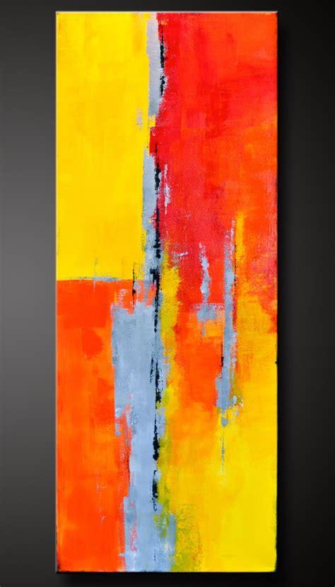 Moderne Acrylbilder Auf Keilrahmen by Adobe 2 18 X 36 Abstract Acrylic Painting
