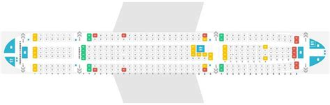 Seat Map and Seating Chart Airbus A330 200 V1 Thomas Cook ...