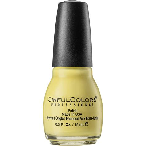sinful colors professional sinful colors professional nail yolo yellow big w