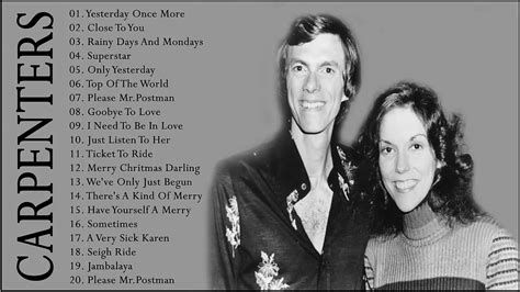 You're just in love, a song for you, i got rhythm, ain't misbehaving, you'll 1976 carpenters very first television special (tv special) (performer: The Carpenter Songs Best Songs of The Carpenter - Carpenters Greatest Hits Collection Full Album ...