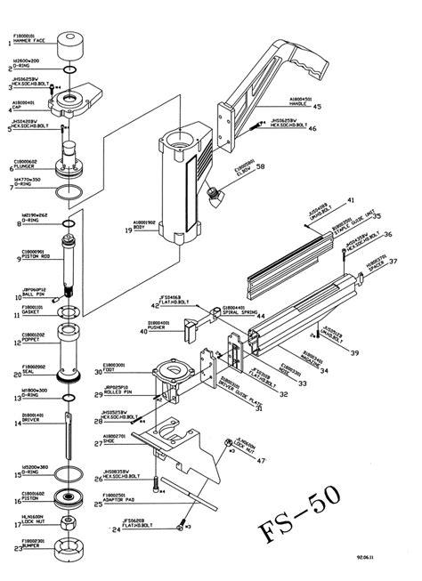 HighPRO Tools Pneumatic Flooring Stapler (model FS-50