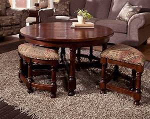 coffee table with stools underneath home design ideas With coffee table with nest of tables underneath