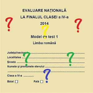 Proparinti  Evaluare Clasa A Iv-a Limba Romana