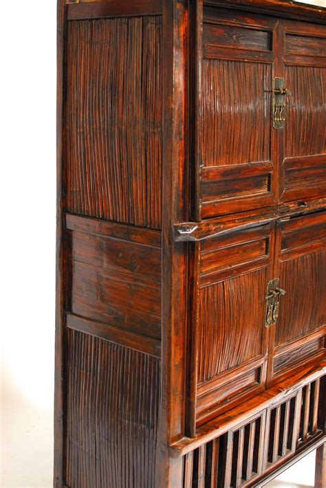 bamboo kitchen cabinets for sale chinese bamboo kitchen cabinet for sale at 1stdibs