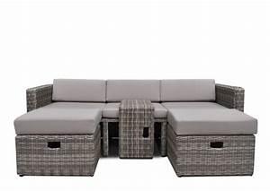 Polyrattan Lounge Sale : rattan loungem bel gartensofa hannover 3 5 sitzer farbe grau braun meliert ~ Whattoseeinmadrid.com Haus und Dekorationen