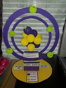 Boron 3d Atomic Model | my crafts | Pinterest | Models ...