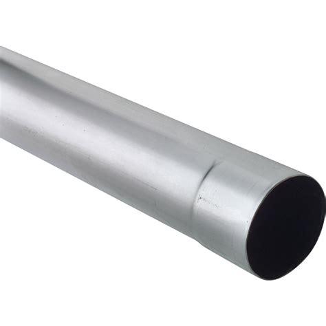 plaque de zinc pour cuisine tuyau de descente zinc gris diam mm l m scover