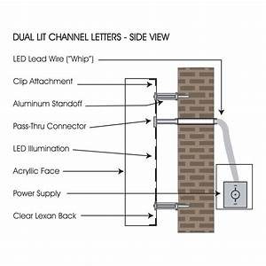 Led Channel Letter Wiring Diagram
