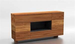 Kommode Massiv Eiche : designer kommode 180x45x93 cm eiche massiv ~ Watch28wear.com Haus und Dekorationen