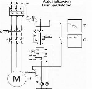 Automatizacion De Una Bomba De Agua Para Tanque Con Cisterna