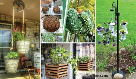 adorable diy hanging planter ideas  beautify  home