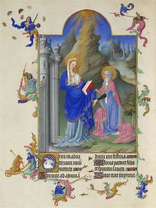 The, Visitation, -, Limbourg, Brothers