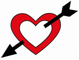 Hearts With Arrows - ClipArt Best