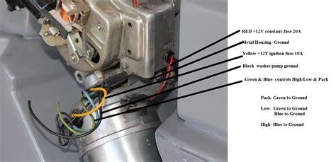 Wiper Motor Wiring Corvetteforum Chevrolet Corvette