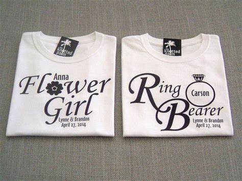 bogo sale personalized ring bearer  flower girl