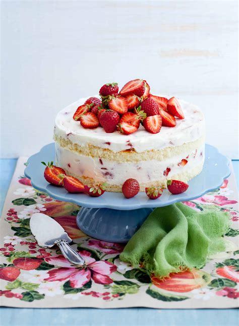 Erdbeer-Joghurt-Torte - so einfach klappt's   Foodio