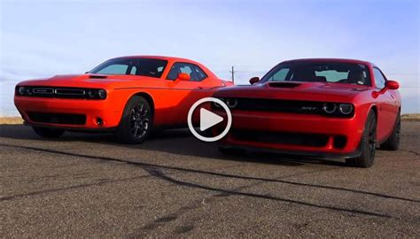 Hellcat Problems by Duel Rwd Vs Hp 707 Hp Rwd Challenger Against 305 Hp Awd