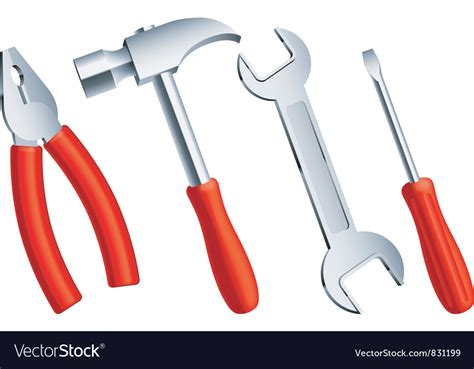 Images Of Tools Construction Tools Royalty Free Vector Image Vectorstock